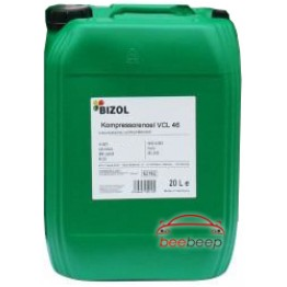 Компрессорное масло Bizol Kompressorenoel VCL 46 20 л