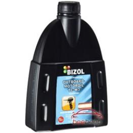 Моторное масло для лодок 2Т Bizol Outboard-Motoroil TC-W3 1 л