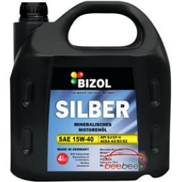 Моторное масло Bizol Silber SAE 15w-40 4 л