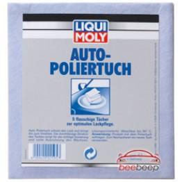 Салфетка для полирования автомобиля Liqui Moly Auto-Poliertuch 5 шт
