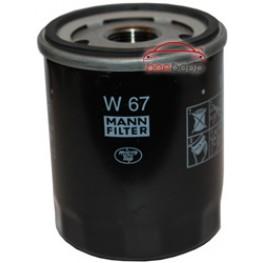 Фильтр масляный Mann-Filter W 67