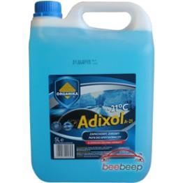 Омыватель стекла зимний Organika Adixol -21°C 5 л парфюм