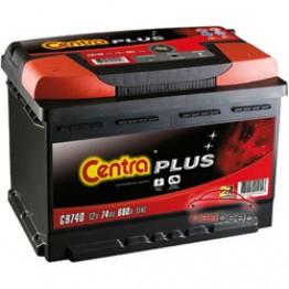 Аккумулятор автомобильный Centra Plus CB740 74Ah 1 шт