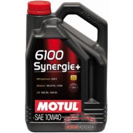 Моторное масло Motul 6100 Synergie+ 10w-40 839451/101493 5 л