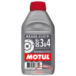 Тормозная жидкость Motul DOT 3 & 4 Brake Fluid 500 мл