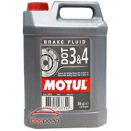 Тормозная жидкость Motul DOT 3 & 4 Brake Fluid 5 л