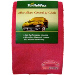 Салфетка из микрофибры для удаления пыли Turtle Wax Microfiber Cleaning Cloth 1 шт 40х40 см