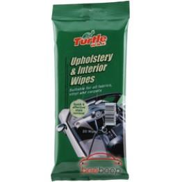 Салфетки для тканевой обивки салона Turtle Wax Upholstery & Interior Wipes 20 шт (упаковка)