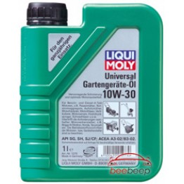 Масло для бензопил и газонокосилок Liqui Moly Universal 4-Takt Gartengerate-Oil 10W-30 1 л