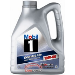 Моторное масло Mobil 1 Extended Life 10w-60 4 л