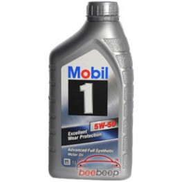 Моторное масло Mobil 1 Peak Life 5w-50 1 л