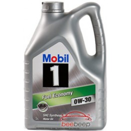 Моторное масло Mobil 1 Fuel Economy 0w-30 4 л