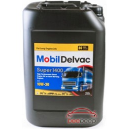 Моторное масло Mobil Delvac Super 1400 10w-30 20 л