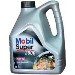 Моторное масло Mobil Super 2000 X1 10w-40 4 л