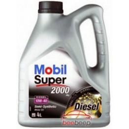 Моторное масло Mobil Super 2000 X1 Diesel 10w-40 4 л