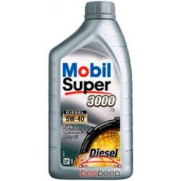 Моторное масло Mobil Super 3000 X1 Diesel 5w-40 1 л