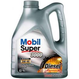 Моторное масло Mobil Super 3000 X1 Diesel 5w-40 4 л