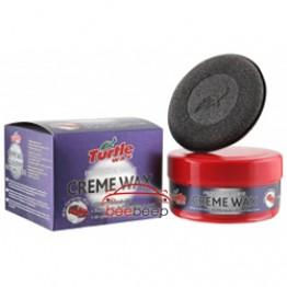 Твердый воск «Профи» Turtle Wax Protect & Shine Creme Wax 250 г (паста)