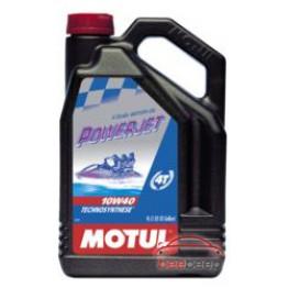 Моторное масло для гидроциклов 4Т Motul Powerjet 4T 10w-40 4 л