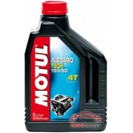 Моторное масло для лодок 4Т Motul Inboard Tech 4T 15w-50 2 л