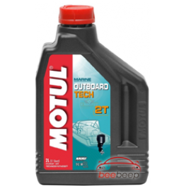 Моторное масло для лодок 2Т Motul Outboard 2T 2 л