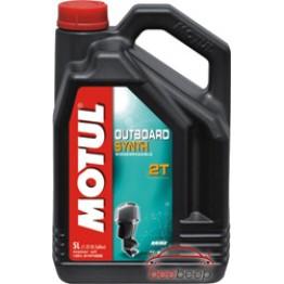 Моторное масло для спортивных лодок 2Т Motul Outboard Synth 2T 5 л