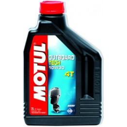 Моторное масло для лодок 4Т Motul Outboard Tech 4T 10w-30 2 л