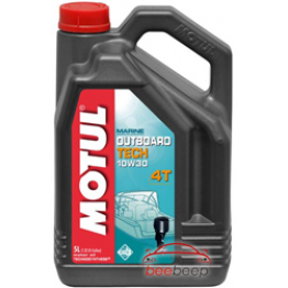 Моторное масло для лодок 4Т Motul Outboard Tech 4T 10w-30 5 л