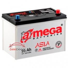 Аккумулятор автомобильный A-Mega ASIA 6CT-95-Аз R+