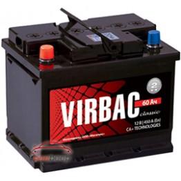 Аккумулятор автомобильный Virbac Classic 6СТ-60-Аз R+