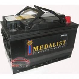 Аккумулятор автомобильный Medalist 65Ah 75D23R 1 шт