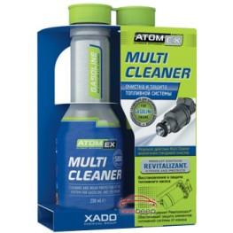Присадка в бензин для очистки топливной системы Xado Atomex Multi Cleaner Gasoline 250 мл