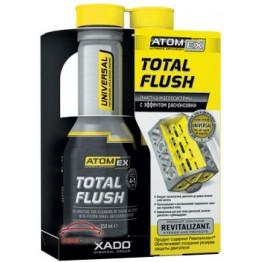 Промывка двигателя «15 минут» Xado Atomex TotalFlush 250 мл