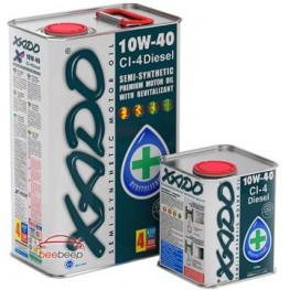 Моторное масло Xado Atomic Oil 10W-40 CI-4 Diesel 60 л