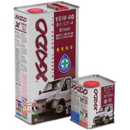 Моторное масло Xado Atomic Oil 10W-40 SG/CF-4 Silver 200 л