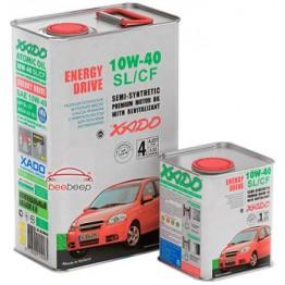 Моторное масло Xado Atomic Oil 10W-40 SL/CF 4 л