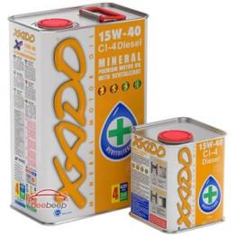 Моторное масло Xado Atomic Oil 15W-40 CI-4 Diesel 60 л