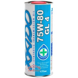 Трансмиссионное масло Xado Atomic Oil 75W-80 GL 4 200 л