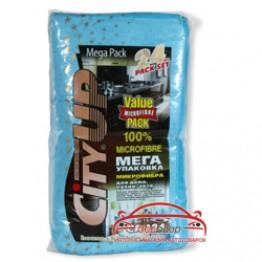 Салфетка из микрофибры для удаления пыли CityUp Microfibre СА-124 24 шт (упаковка)
