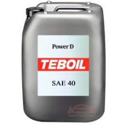 Моторное масло Teboil Power D SAE 40 20 л