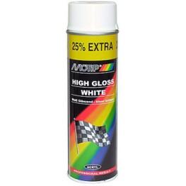 Краска Motip акриловая 500 мл (белая)