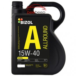 Моторное масло Bizol Allround 15w-40 5 л