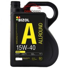 Моторное масло Bizol Allround 15w-40 5 л