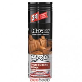 Пена для очистки кожи Hi-Gear Leather Cleaner PRO Line 340 г