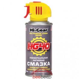 Смазка «Универсальная» Hi-Gear Lithium Grease HG 40 142 г