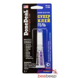 Клей на основе цианакрилата / суперклей DoneDeal Super Glue DD6594 DD6601 DD6608 2 г