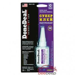 Клей на основе цианакрилата / суперклей DoneDeal Super Glue Industrial Formula DD6643 30 г