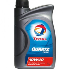Моторное масло Total Quartz 7000 10W-40 1 л