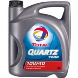 Моторное масло Total Quartz 7000 10W-40 4 л
