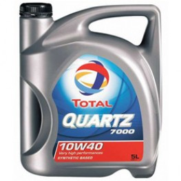 Моторное масло Total Quartz 7000 10W-40 5 л